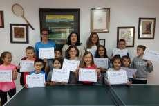 Participantes en el programa Aprendiendo en valores