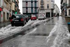 Puerta de Ávila con nieve