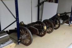 Cañones en el Museo del Ejercito