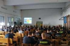 Uno de los talleres de las Jornadas Nacionales de bomberos