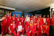 Ganadores del LI Campeonato de España de Selecciones Autonómicas de pesca de Salmónidos Lance