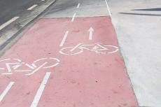 Carril bici y vía ciclable