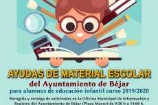cartel anunciador de la convocatoria de ayudas