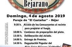 Programa del Día del Calderillo Bejarano