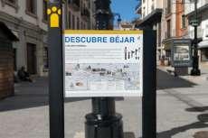 Señalización turística ubicada en la calle Zuñiga Rodriguez