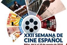 Cartel de la XXII Semana de Cine Español de Béjar