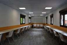 Vista del Interior de la Casa del Estudiante