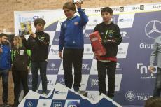 Carlos Gómez Nieto y Juan Matas Manzano en el podium