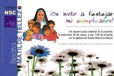 Cartel promocional del Triduo a la Madre Matilde Téllez