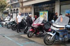 Concentración de motos Goldwing en Béjar