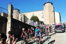 Salida del Critérium Moisés Dueñas disputado en Béjar