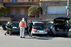 Desinfección de vehículos en Béjar