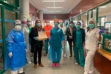 Reconocimeinto del Ayuntamiento  a los enfermeros/as del centro de salud de Béjar