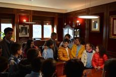 Escolares bejaranos visitan las dependencias municipales