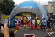 Hector Merino  En podium