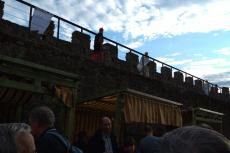 Mercado tradicional junto a las murallas