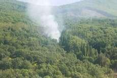 Columna de Humo vista desde Béjar