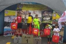 Jaime Merino en podium