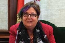 Josefa Montero presidenta  del centro de Estudios Bejaranos