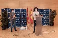 Marisa Díaz portavoz de la plataforma por la defensa de la sanidad en las Cortes Regionales