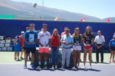 Foto ganadores Open de Tenis