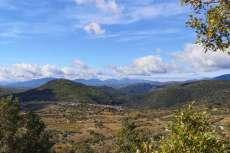 Parque natural Sierra de Francia donde se enmarcan los viñedos