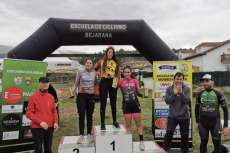 Uno de los podium del Campeonato XCO de Béjar