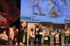Entrega del reconocimiento de Cruz Roja a alumnos/as del colegio María Auxiliadora de Béjar
