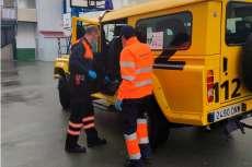 Protección Civil también ha contribuido a la recuperación del material escolar del centro educativo