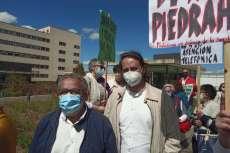 Concentración de protesta Sanidad, Marea Blanca Salamanca