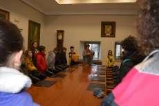Alumnos de colegios de Béjar en la sala de comisiones