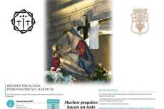 Cartel de la campaña de recaudación de fondos para la restauración de la imagen