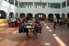 Torneo de ajedrez de Ferias partidas en el Centro de Ocio