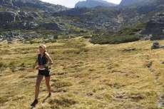 Ana Rico, durante la carrera