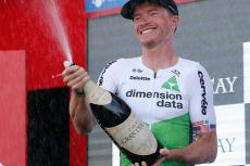 Benjamin King, ganador de etapa