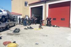 Jornadas nacionales de bomberos 2018 en Béjar