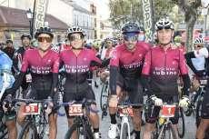 Varios ciclistas